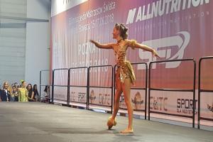 Salta, podskoki i figury akrobatyczne. Mistrzostwa Polski Dzieci w Fitness