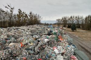 Składowisko odpadów tymczasowo zamknięte