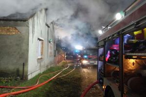 Stracili dom w pożarze. Proszą o pomoc