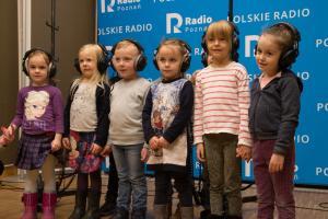 Śpiewające przedszkolaki w Radiu Poznań. Nagrały wyjątkową płytę
