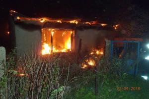 Pożar altanki działkowej. Nie żyje jedna osoba