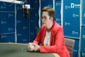 """""""Nie wszyscy wierzą w to, że Jaśkowiak uniesie tę prezydenturę"""". Katarzyna Lubnauer w Radiu Poznań"""