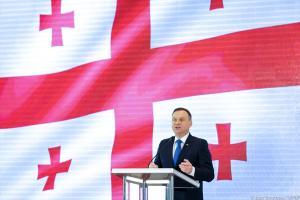 Duda w Tbilisi: Nigdy nie zgodzimy się na naruszanie granic suwerennych państw