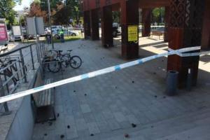 Kibice zdemolowali dworzec w Kutnie