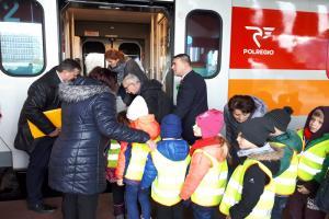 Dzieci poznały tajniki pracy na kolei