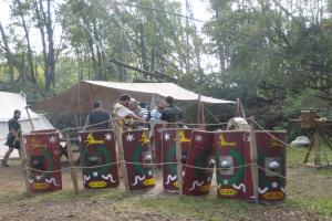 Rzymski legion w Biskupinie