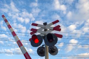 Po raz kolejny nie działały rogatki przy przejeździe kolejowym