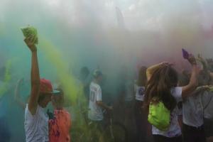 Kolorowe proszki i farby poszły w ruch! [ZDJĘCIA]