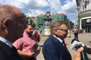 Działacze Prawa i Sprawiedliwości opowiadali o błędach poznańskiego magistratu