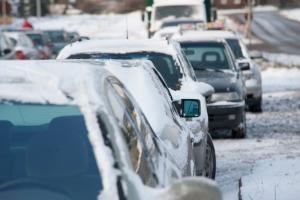 Trudne warunki do jazdy w Wielkopolsce. Groźne wypadki w Poznaniu