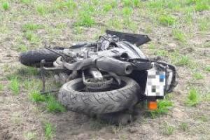 Wypadek pod Koninem. Nie żyje 43-letni motocyklista