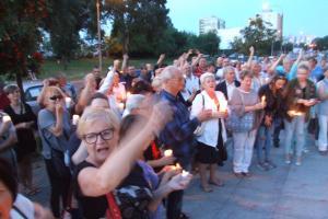 Protest w Koninie