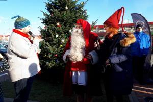 Dzieci spotkały prawdziwego Świętego Mikołaja