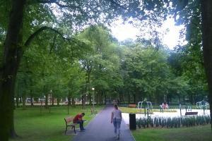 Odnowiony park na Górczynie