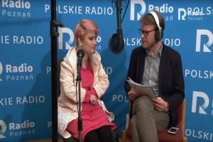 Agnieszka Kuszewska w Radiu Poznań