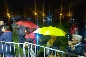 Manifestacja po wecie prezydenta