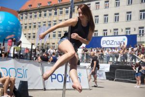 Gimnastyka na Plaży Wolności