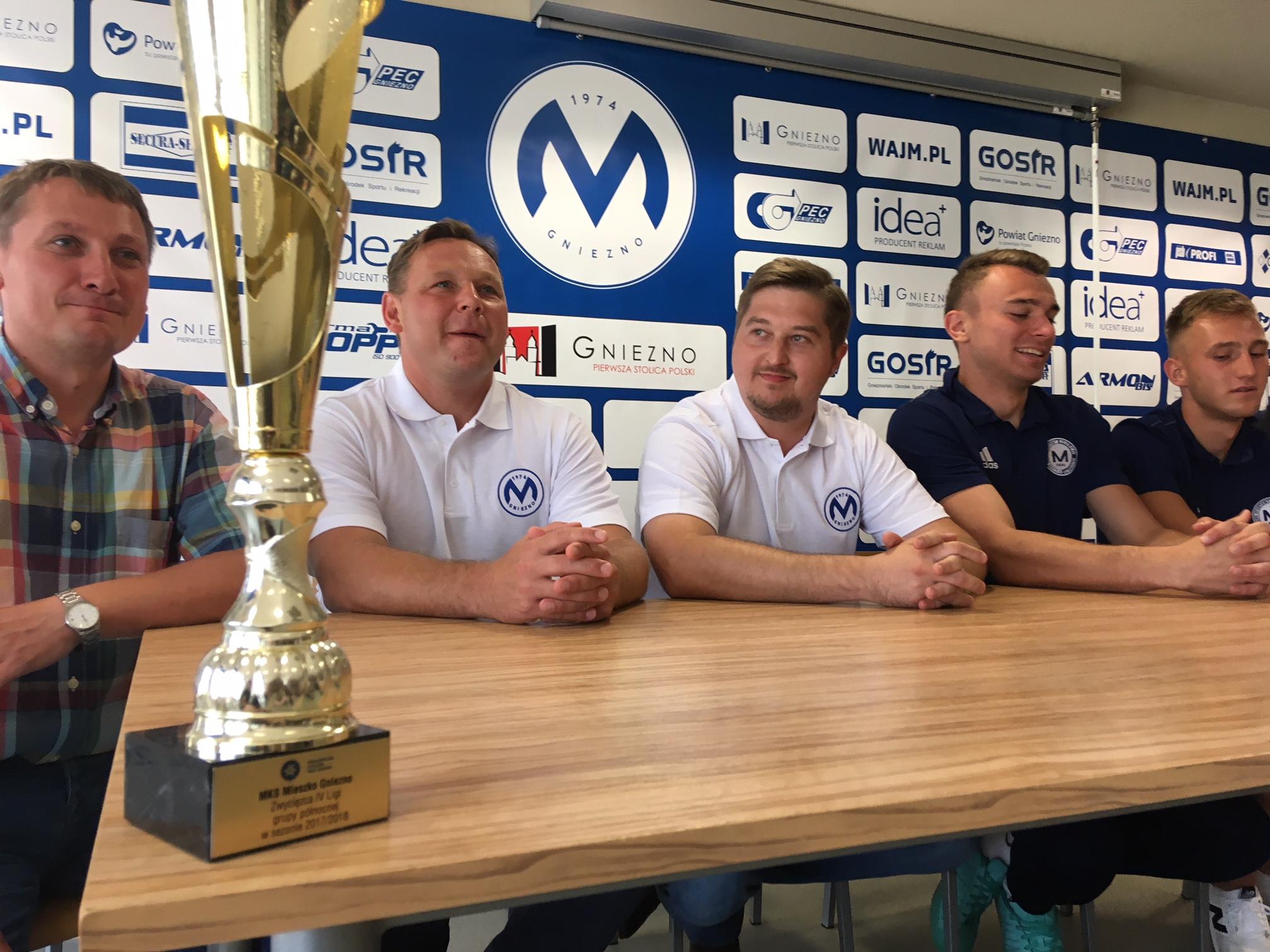 Klub piłkarski Mieszko Gniezno awansował do III ligi