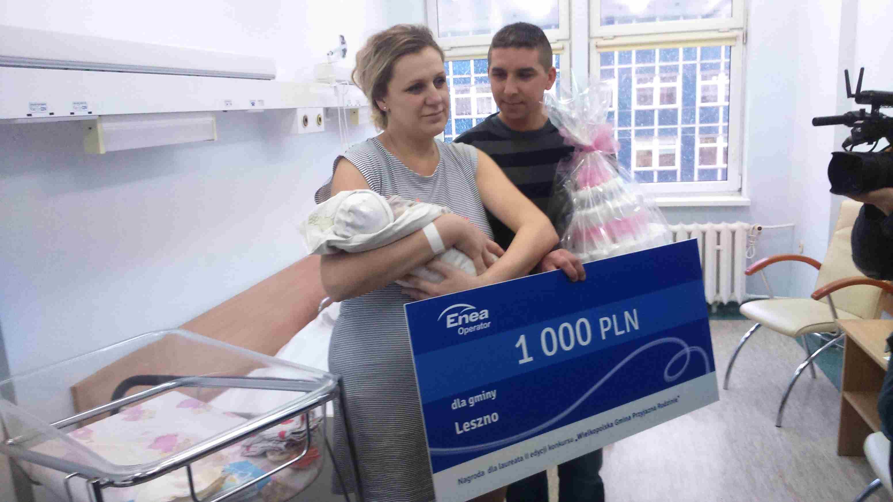 Pieniądze dla pierwszej leszczynianki