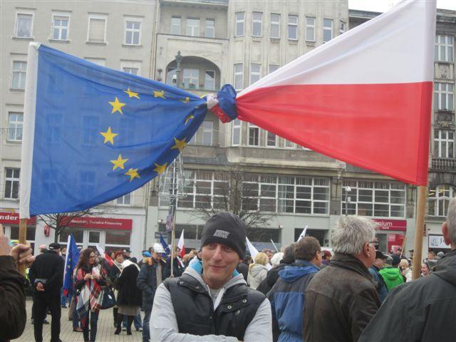 druga demonstracja KOD (4) - Magda Konieczna
