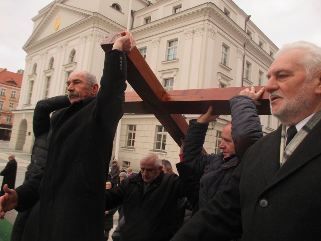 Procesja Drogi Krzyżowej w Kaliszu