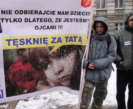 Demonstracja ojców - Dzielny Tata.pl