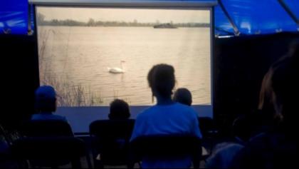 Seanse filmowe na pokładzie statku