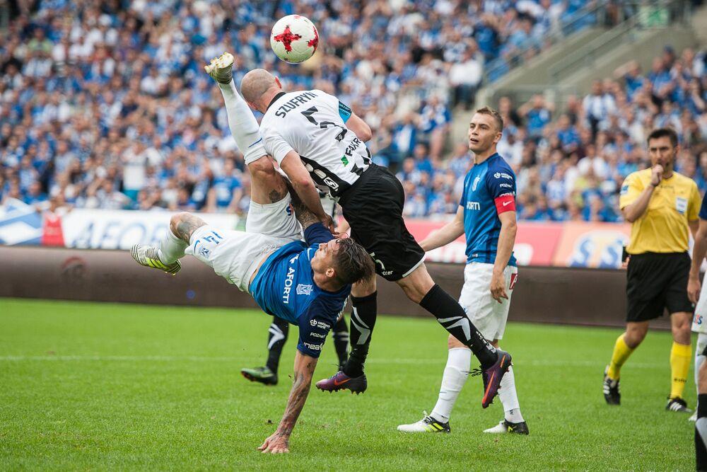 Lech Poznań kontra Sandecja Nowy Sącz 0:0