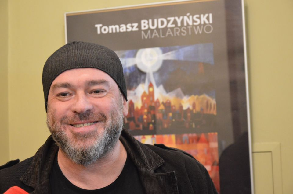 Wernisaż wystawy Tomasza Budzyńskiego