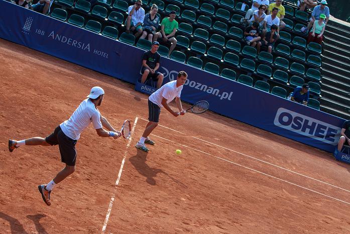 tenis debel - Paweł i Piotr Rychter