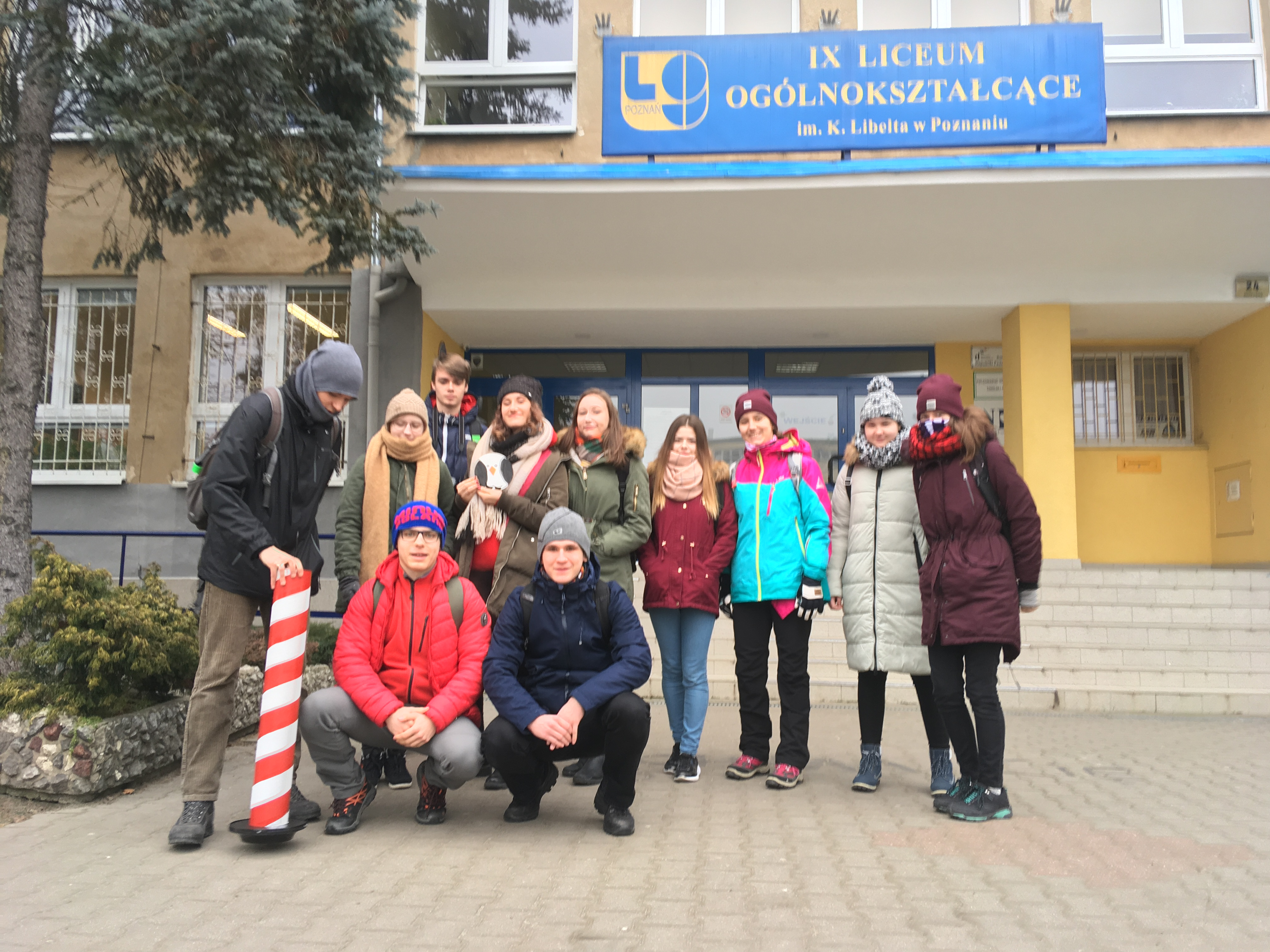 Wyprawa na południowy biegun Poznania