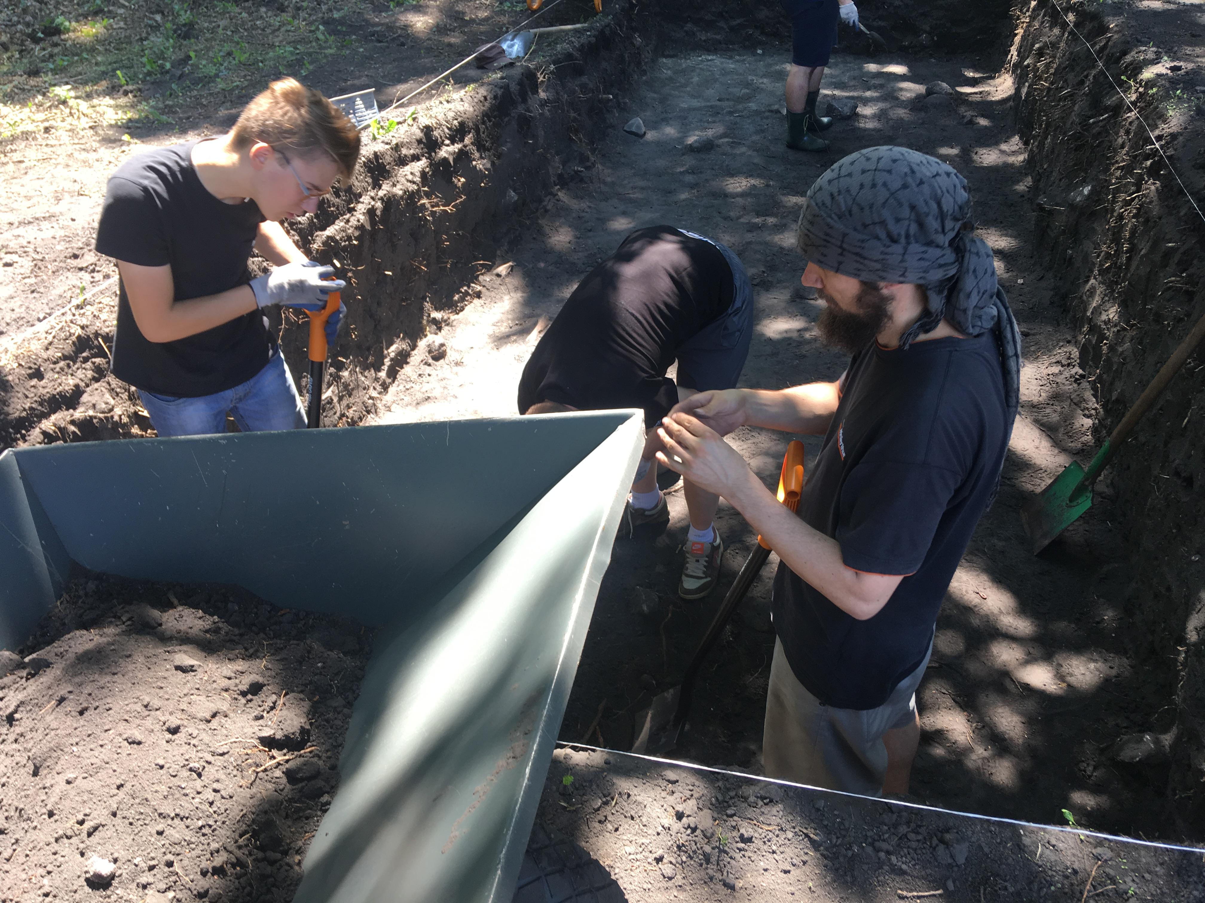 Powrót archeologów do Grzybowa