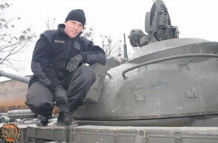czołg t-54 z MBP Spielberg - Muzeum Broni Pancernej w Poznaniu