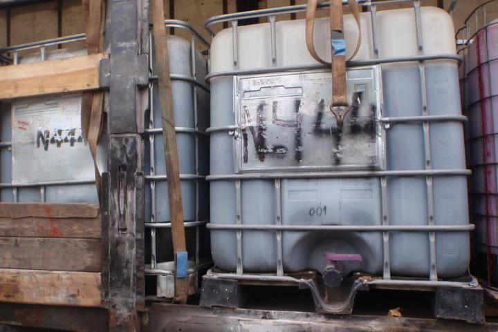 pojemniki na chemikalia - Straż Miejska Miasta Poznania