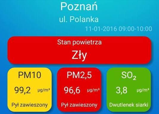 stan powietrza polanka-001 - Poznański Alarm Smogowy