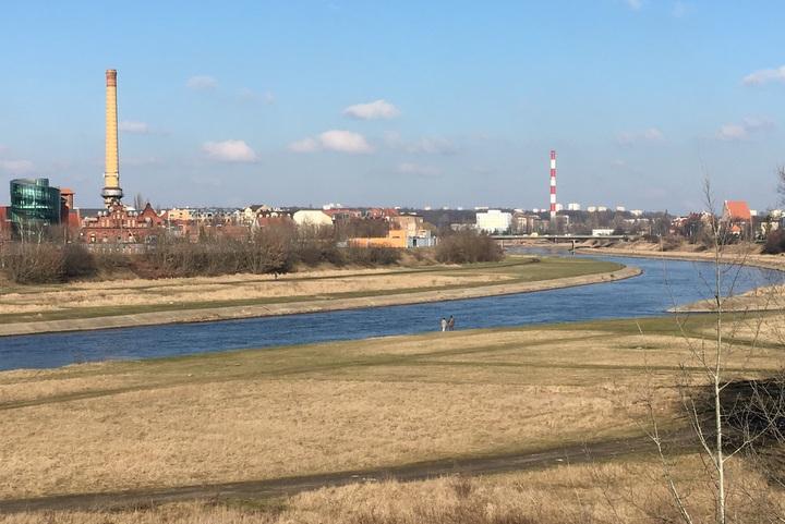 rzeka warta wiosną zakole - Radio Merkury