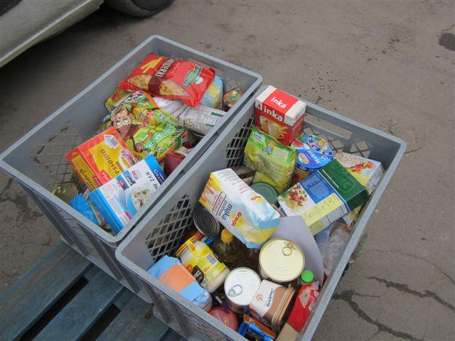 zbiórka żywności - Magdalena Konieczna