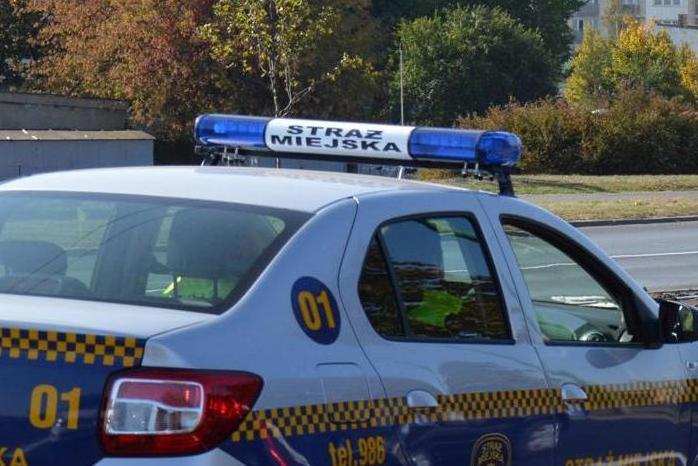 straz miejska zatrzymanie samochód - Straż Miejska Miasta Poznania