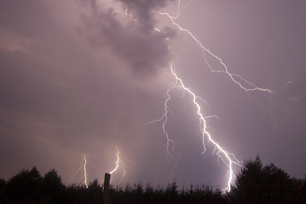 pioruny burza nawałnica błyskawice2 - Tomasz Żmudziński