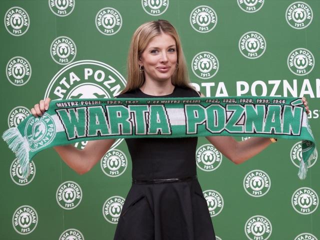 Izabela Łukomska-Pyżalska - Prezes Warty Poznań - Przemek Modliński