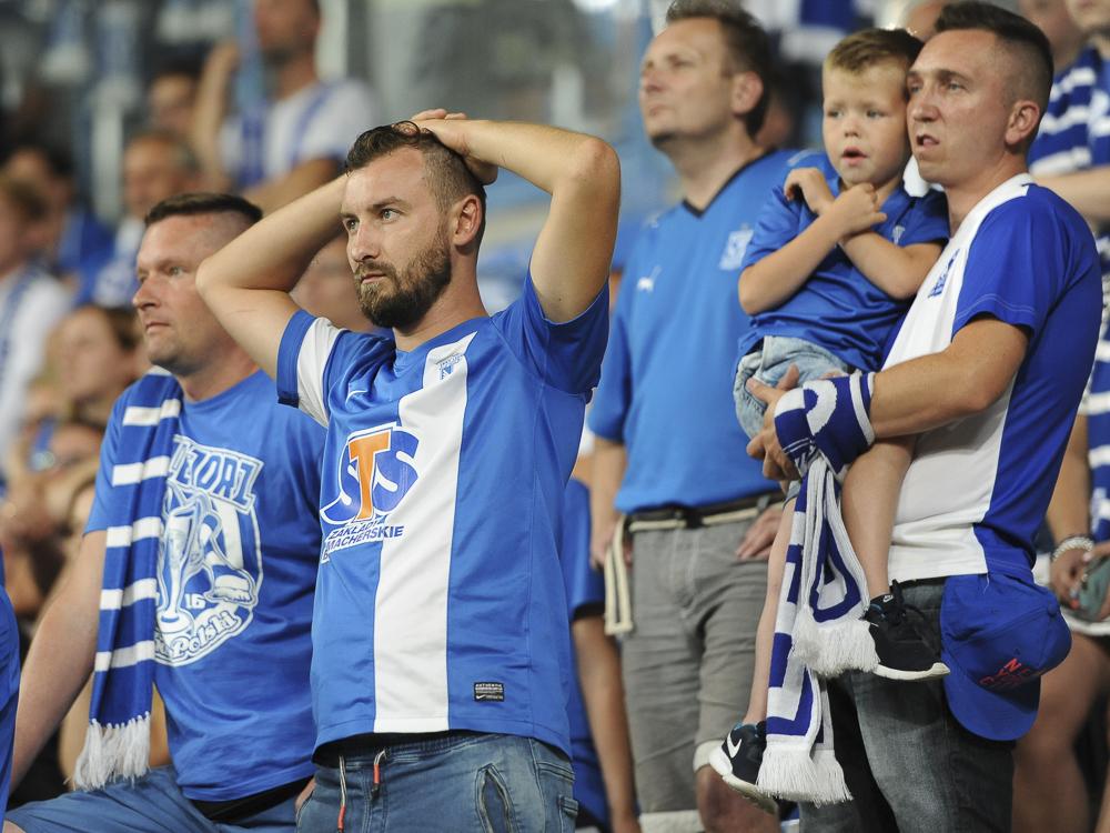 Lech - Jagiellonia Białystok, 0-2 - Przemek Modliński