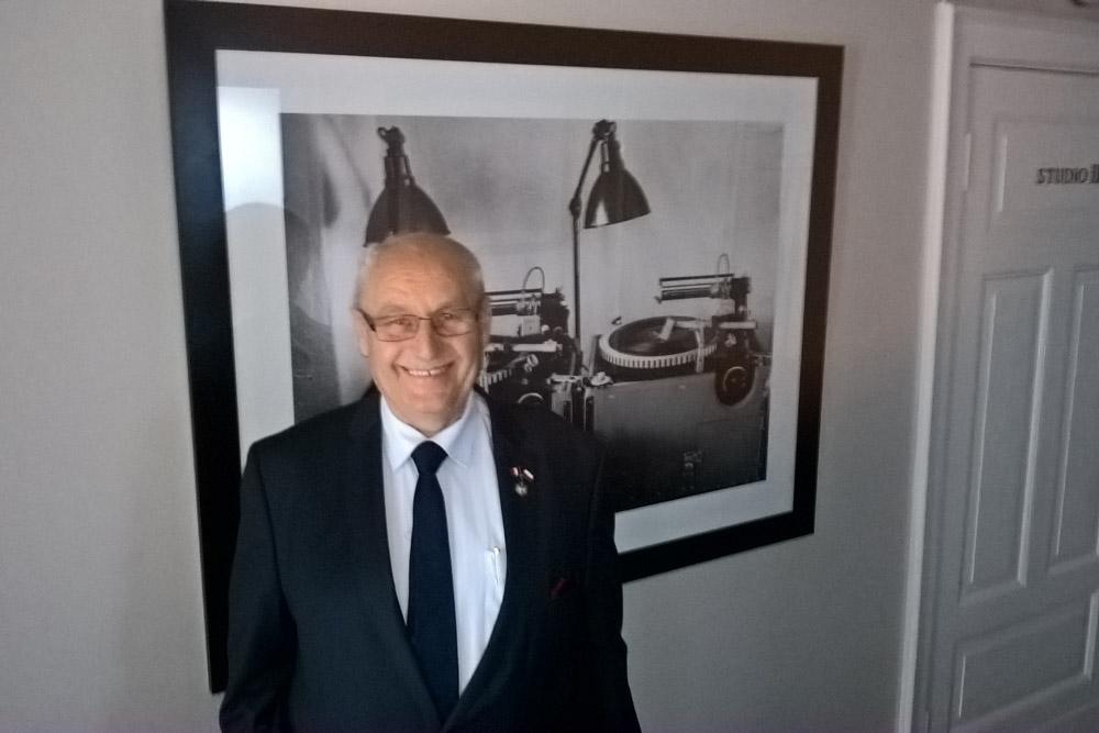 na zdj. Kajetan Pyrzyński, konsul honorowy Peru