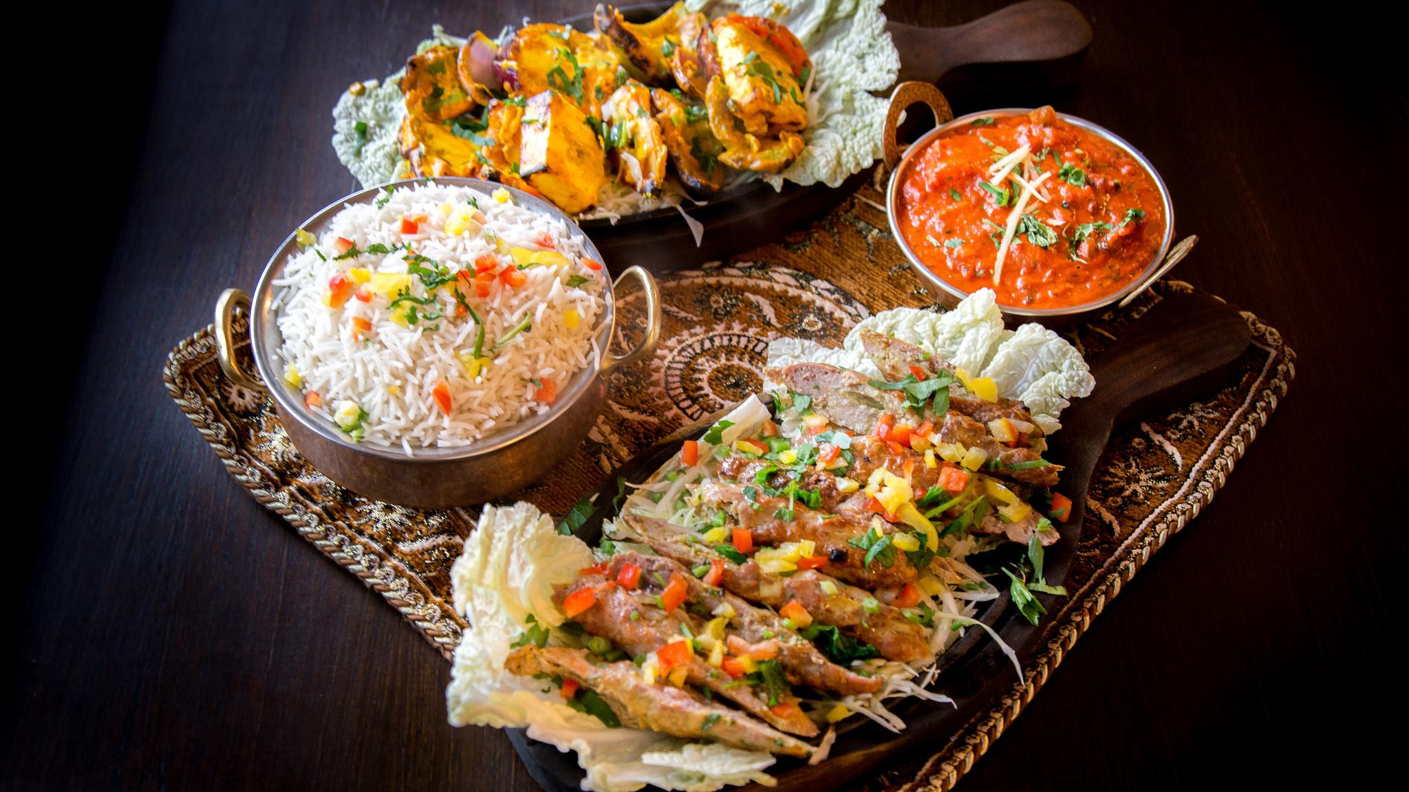piękne jedzenie danie indyjskie - Jan Plotowski, PLOT
