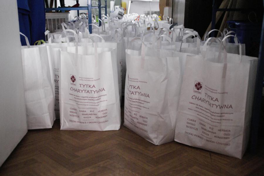 tytka charytatywna - Caritas