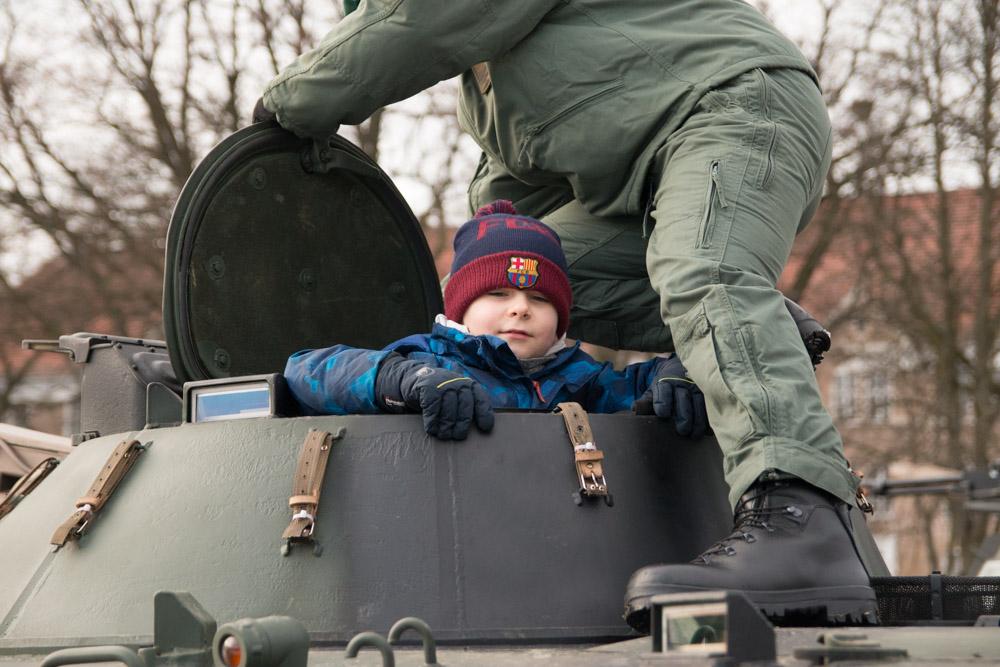 Piknik militarny w CSWL - Leon Bielewicz
