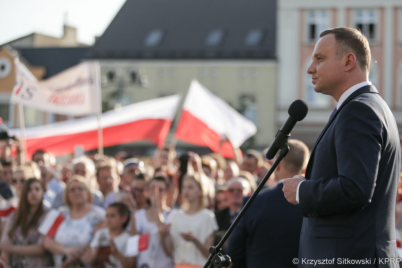 prezydent duda w wągrowcu (5) - Krzysztof Sitkowski/KPRP