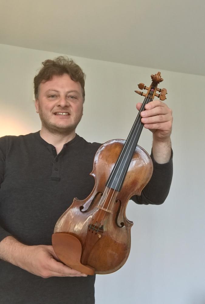 skrzypce dla filharmonii kaliskiej - Danuta Synkiewicz