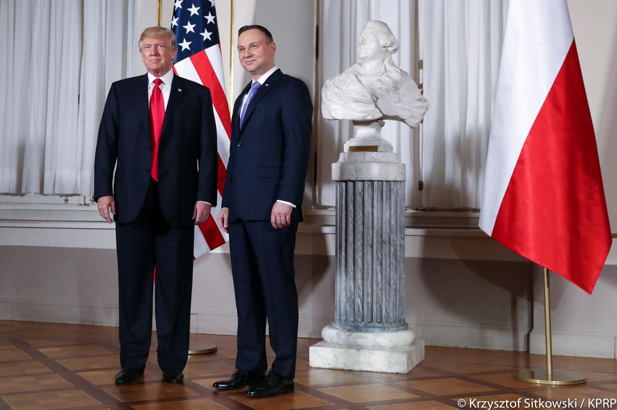Wizyta Donalda Trumpa w Polsce - Kancelaria Prezydenta RP