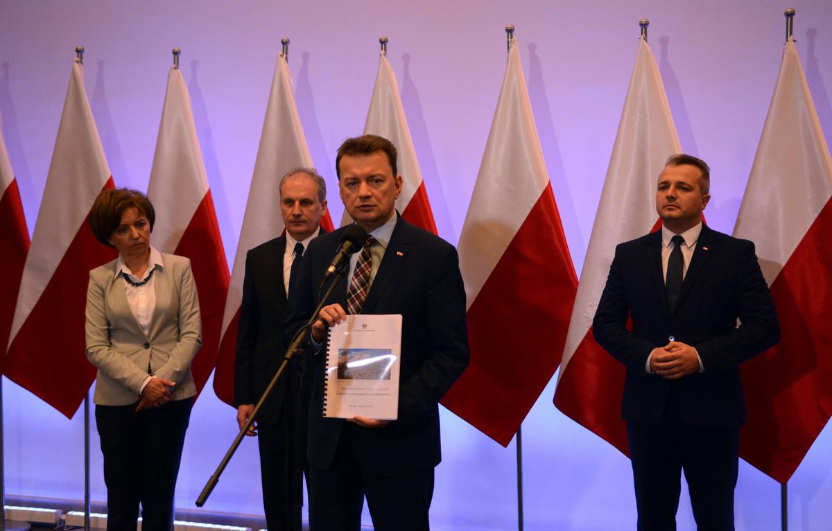 Minister Błaszczak środki unijne - Wielkopolski Urząd Wojewódzki w Poznaniu