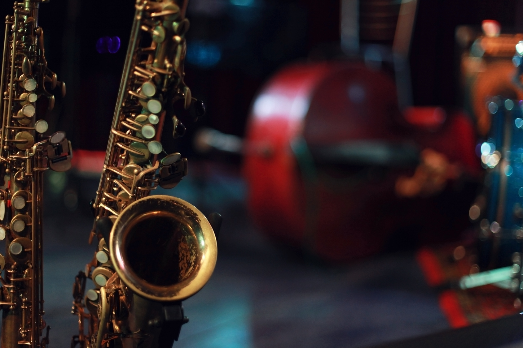 jazz saksofon muzyka - Fotolia
